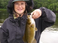First Bass on Fly