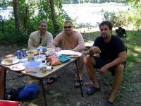 Driftboat Lunch Break