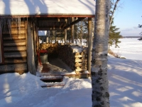 Birches Lakefront Cabin