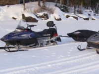 Snowmobiles Used On Trips
