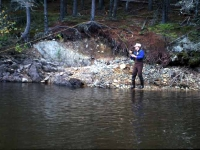 Fish-On at Ragged Stream