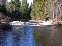 Pleasant River in Autumn