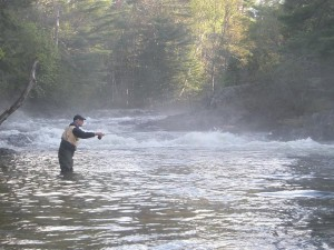 Maine Landlocked Salmon Fishing