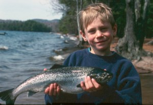 Sebago Lake Maine Salmon Fishing
