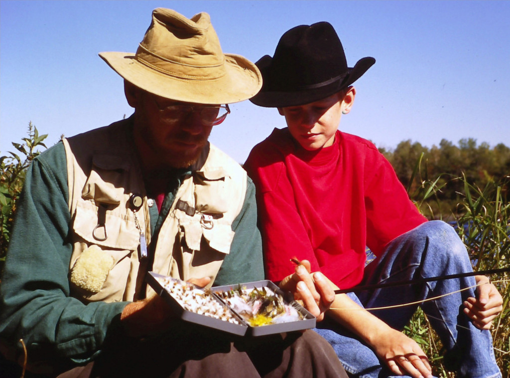 A Western Dude Ranch Family Fly Fishing Vacation