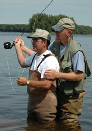 Maine Fly Casting Lesson