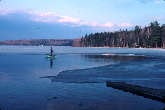 Strategies for trout and salmon in maine lakes for Lake fishing near me